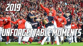 MLB | 2019 - Unforgettable Moments