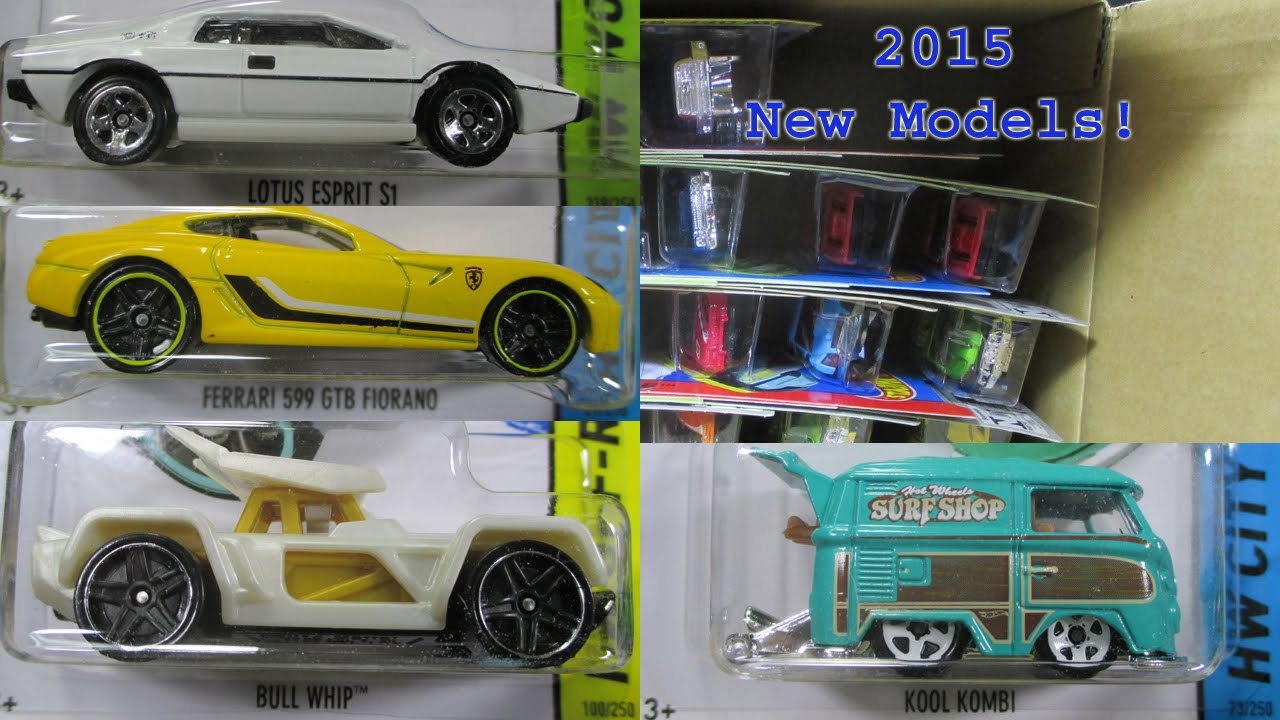 2015 A Hot Wheels Factory Sealed Case Unboxing 2015 New ...