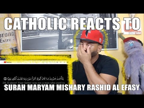 CATHOLIC REACTING TO | Surah Maryam | Mishary Rashid Al Efasy