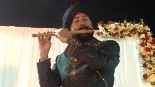 kuhu kuhu bole koyaliya on flute by sardar baljinder Singh +919302570625