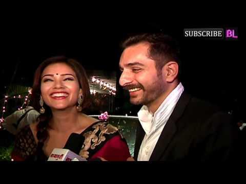 Siddhant Karnick and Megha Gupta attend Kishwer Merchantt and Suyyash Rai's wedding reception