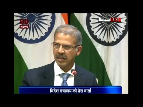 Media Briefing on upcoming visits of PM to Palestine, UAE and Oman