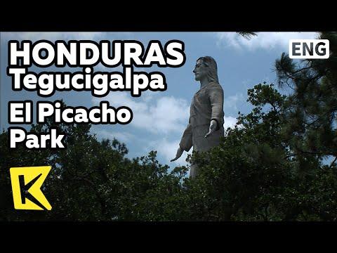 【K】Honduras Travel-Tegucigalpa[온두라스 여행-테구시갈파]엘 피카초 공원, 거대 예수상/El Picacho Park/statue/Performance