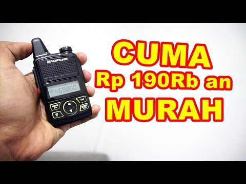 Review Radio Transceiver Baofeng BF-T1 Mini VLOG197