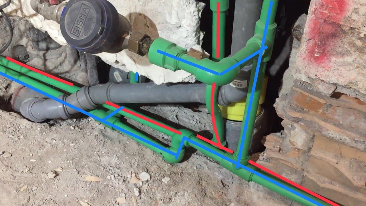 Rifare Impianto Idraulico Casa ristrutturare bagno e cucina da soli - impianto idraulico di carico
