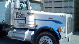 1989 Peterbilt 379 Transfer Dump Truck