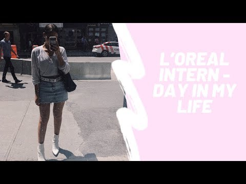 VLOG #9: DAY IN THE LIFE OF A L'OREAL INTERN & CONTENT CREATOR