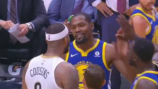 Remember when Kevin Durant RUN AWAY FROM FIGHT with DeMarcus Cousins After Both Got Ejected!!!