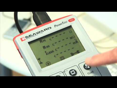 Testing an IEC Lead - Seaward PrimeTest 100 PAT Tester