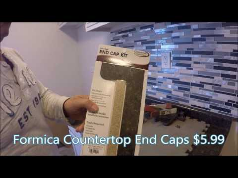 How To Install Formica Countertop End Caps Vedat Usta