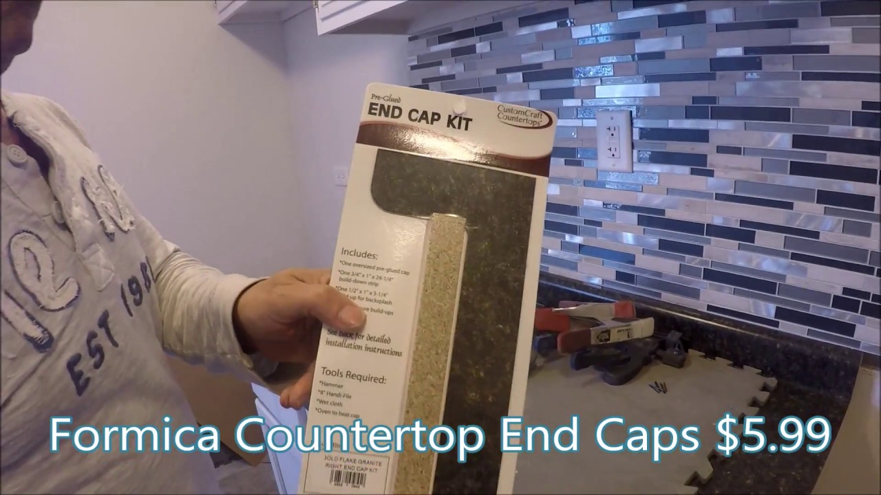 How To Install Formica Countertop End