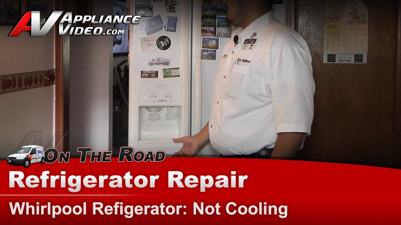 Refrigerator Repair Amp Diagnostic Not Cooling Whirlpool