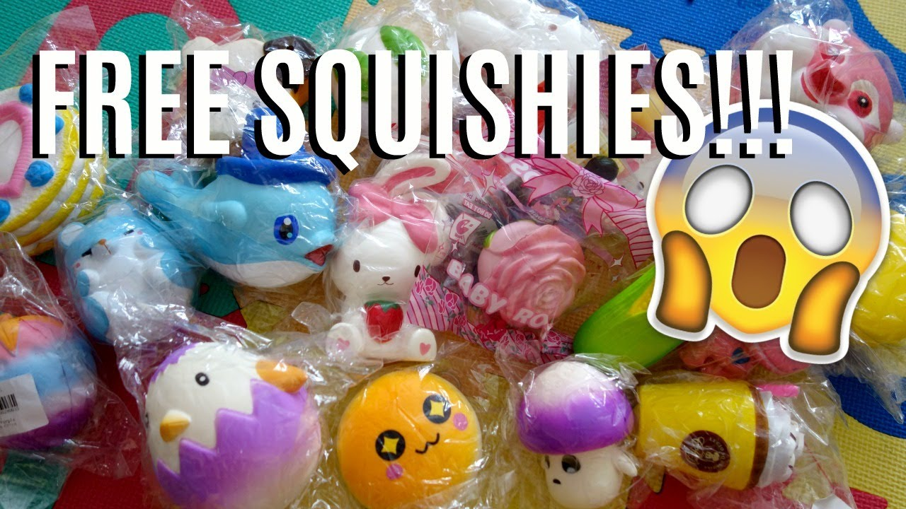 Squishies For Free - The Squishy Databases