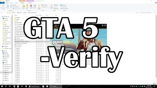 GTA5 - How to Verify and Repair Corrupted Files / Fix your game installation.