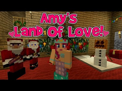 Amy's Land Of Love! Ep 123 Santa And The Witch! Christmas Special! |  Minecraft | Amy Lee33