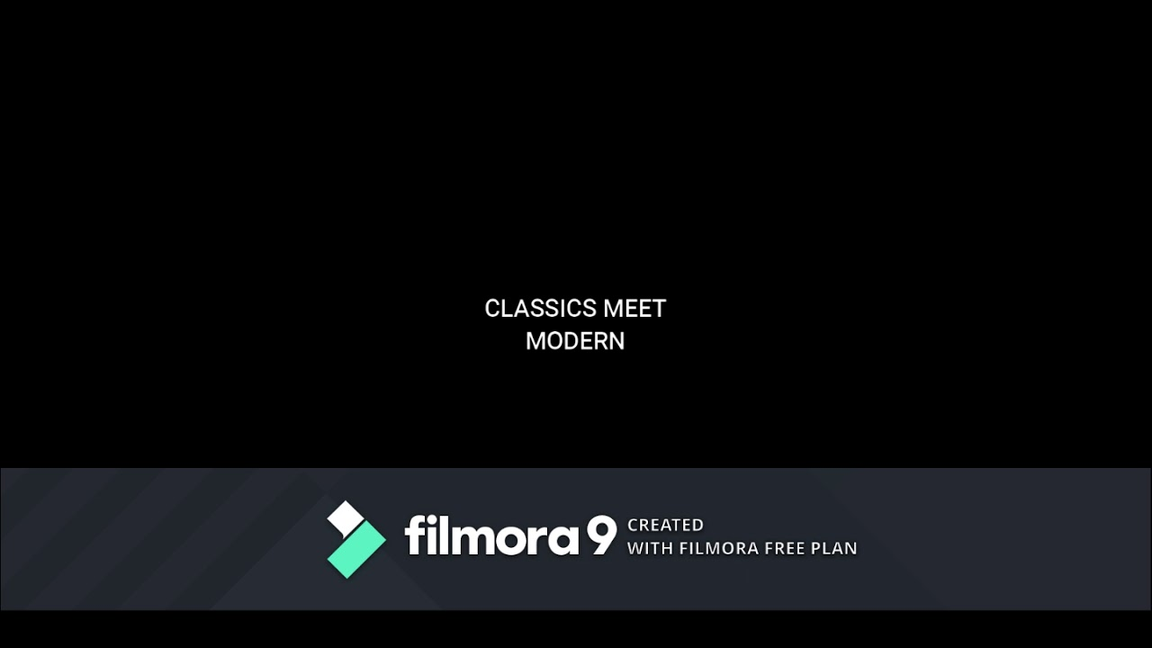 Classics meet modern 1