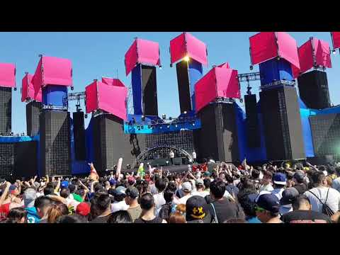 Showtek fts creamfields chile 2017