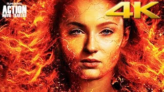 DARK PHOENIX 4K Ultra HD Trailer    X-Men Marvel Comic Book Movie