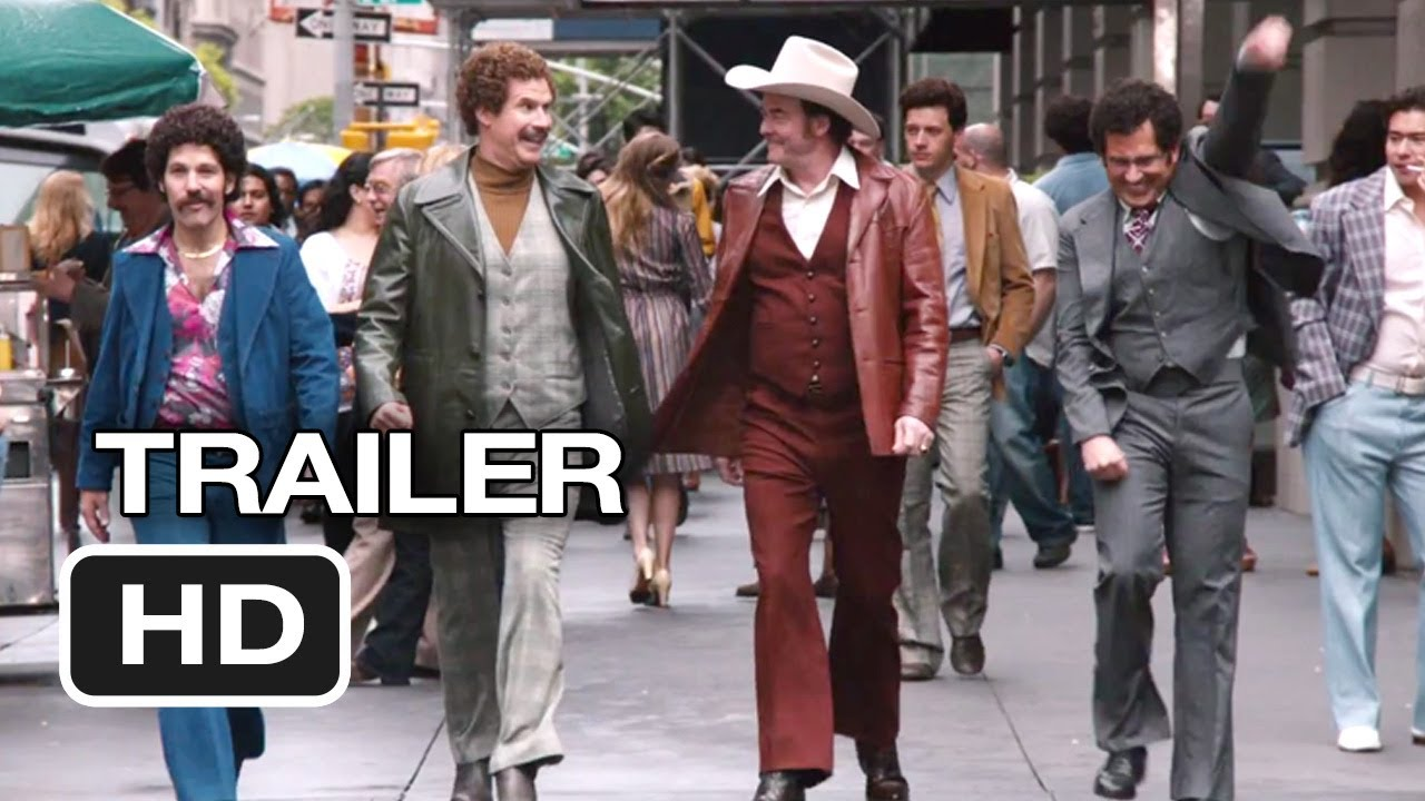 Anchorman 2 The Legend Continues Official Trailer 1 2013 Will Ferrell Movie Hd Youtube