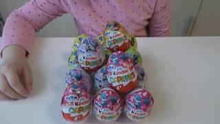 Сімейка бегемотиків The Happos Family Розпакування 15-ти кіндер сюрпризів і інші іграшки
