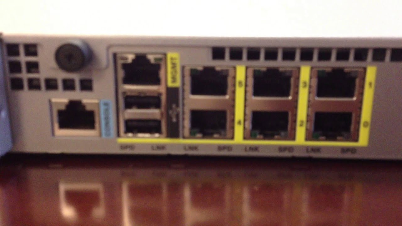 Cisco Asa 5512 X Firewall Unboxing Youtube