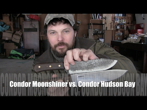 Condor Hudson Bay vs Condor moonshiner