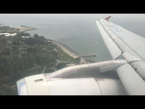 Turkish Airlines Airbus A320-200 Landing at Istanbul Atatürk Airport