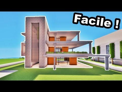 comment faire une grande maison moderne facilement tuto. Black Bedroom Furniture Sets. Home Design Ideas