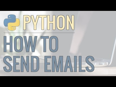 How to Send Emails Using Python - Plain Text, Adding Attachments, HTML Emails, and More thumbnail