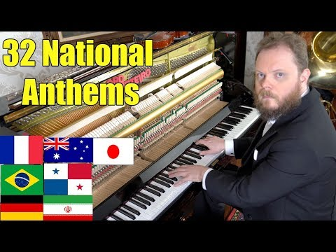 All 32 National Anthems From The World Cup's Countries Vídeos de zueiras e brincadeiras: zuera, video clips, brincadeiras, pegadinhas, lançamentos, vídeos, sustos