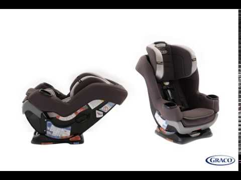 GracoR Extend2FitR Convertible Car Seat Featuring Safety SurroundTM Side Impact Protection