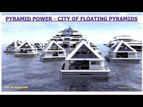 Pyramid Power, City of Floating Pyramids Looking for Residents