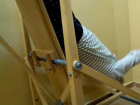 инверсионный стол для позвоночника своими руками