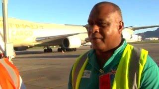 Fiji: Arrival of Humanitarian Relief