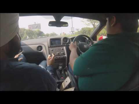 Ashish Garg Driving Nissan GTR