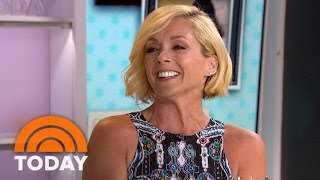 """Five-time emmy nominee jane krakowski who plays the first lady to kevin james' united states president in new movie """"pixels."""" » subscribe today: http:..."""