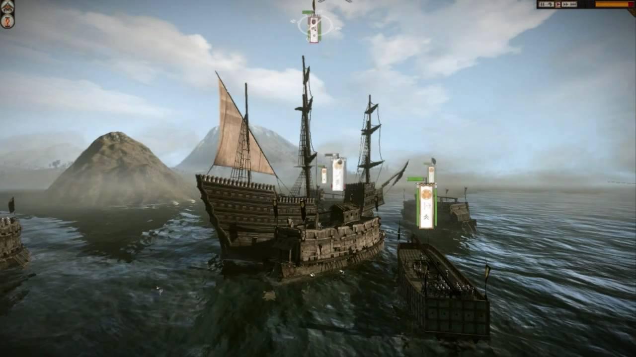 Shogun 2 Total War Capturing The Black Ship On Very Hard