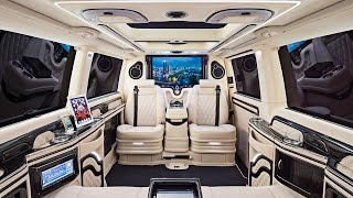 The Most Luxurious Custom Van Builds