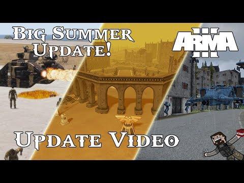 ARMA 3 - Warhammer 40k Mod (Update Video) Big Summer Update!