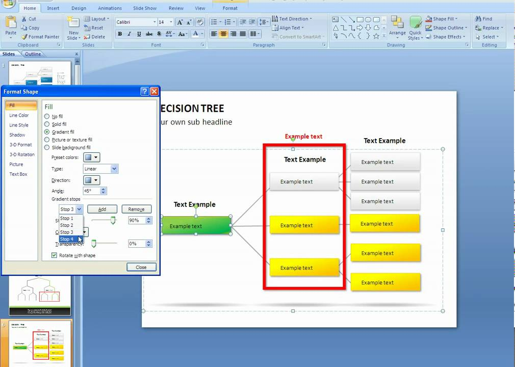 How to copy formatting of an object in PowerPoint  YouTube