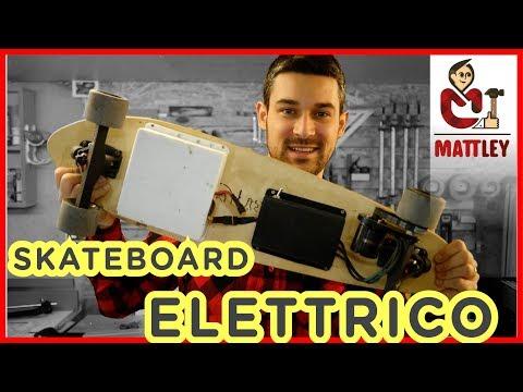 Come fare uno Skate o Skateboard elettrico fai da te