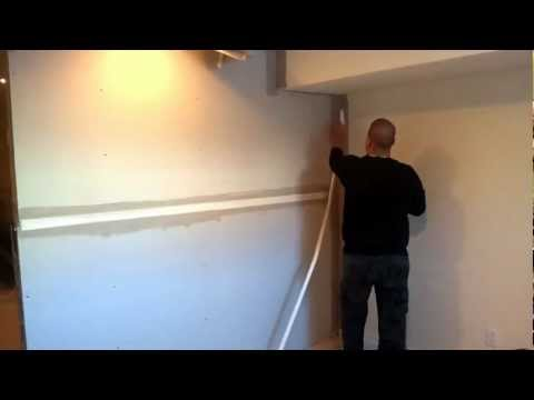 HOW TO DRYWALL,TAPE,MUD,PLASTERER