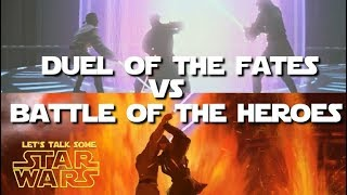 Duel of the Prequel Duels:  It's not even a fair fight... (Let's Talk Some Star Wars)