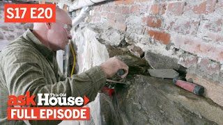 Ask This Old House | Fix Foundation, Textured Ceiling (S17 ...