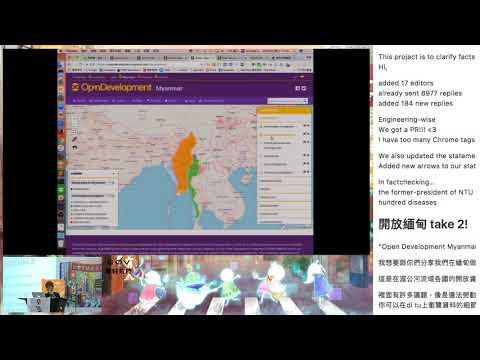 g0v tw hackath26n — 成果報告 — Open Development Myanmar / Jia Li — 五週年黑客松 mov