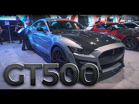 2020 Ford Mustang Shelby GT500 Carbon Fiber