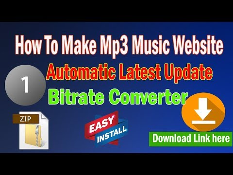how-to-make-music-website-automatic-latest-updates-|-voice-tag-maker-script-|-bit-rate-converter