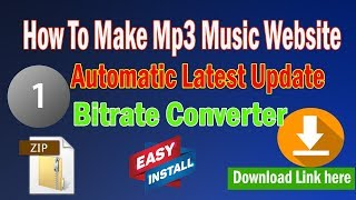 how-to-make-music-website-automatic-latest-updates-voice-tag-maker-script-bit-rate-converter