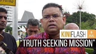 Lokman Adam to take sex video to Indonesia for verification | KiniFlash - 9 Jul