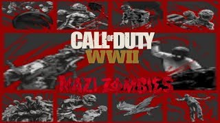 Leaked Trophies for WW2 Zombies Game Mode ( Call of Duty WW II Zombies)